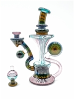 @steve_sizelove AIRTRAP RECYCLER RIG W/ BUBBLE CAP