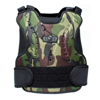 GXG woodland paintball Chest Protector