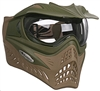V Force Grill-Reverse Thermal Paintball Goggle - Olive / Desert Tan