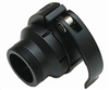 Warrior Paintball Ion/Shocker Clamping Feedneck - Black