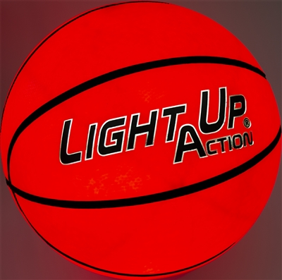 Light Up Action Basketball Platinum Edge Edition