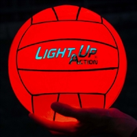 Light Up Action Volleyball Chrome Edition LED Volleyball