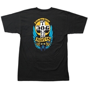 Dogtown Tee Shirt Bulldog OG  - Black