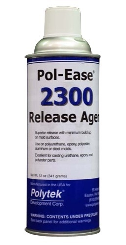 Pol-Ease 2300 Mold Rubber Release Agent-Case of 6