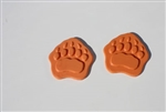 Small Bear Paw Stamp Mat  Set of 2