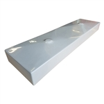 "48"" Rectangle Dual Drain Trough Sink Mold"