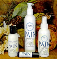 "Alma Naturals - ""PAIN"" - Pain RELIEF Cream/Lotion 3 oz"