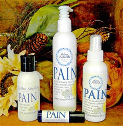 "Alma Naturals - ""PAIN"" - Pain RELIEF Cream/Lotion 8 oz"