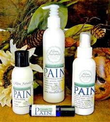 "Alma Naturals - ""PAIN"" With Cannabis Oils - Pain RELIEF Cream/Lotion 3 oz"