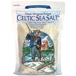 Selina Naturally - Celtic Sea Salt - Grey: 1 lb bag
