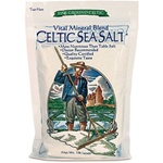 Selina Naturally - Celtic Sea Salt - Fine Ground (1 lb) bag