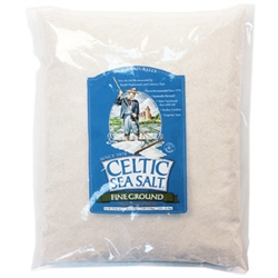 Selina Naturally - Celtic Sea Salt - Fine Ground (Shaker Jar)