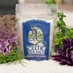 Selina Naturally - Fleur de Sel Sea Salt (1/4 lb) - Flower of the Ocean