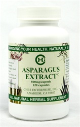 Asparagus Extract, Asparagus Extract 120 Capsules, Chi's Enterprise Asparagus Extract, Dr. Chi's Asparagus Extract