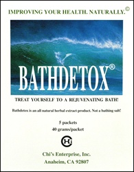 Bathdetox 5 packets - Chi's Enterprise Bathdetox