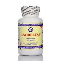 Snoreless - 120 Caps - Chi's Enterprise