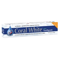 Coral White Toothpaste Mint Flavor (6.0 oz)