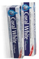 Coral White Toothpaste Mint Flavor Travel (2.0 oz)