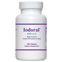 Optimox Iodoral 12.5mg 180 Tablets