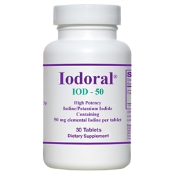 Optimox Iodoral 50 mg 30 Tablets