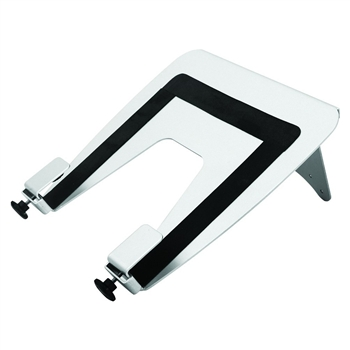 Monitor Arm Mounted Laptop Holder