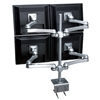 SightLine Quad Panel Monitor Arm