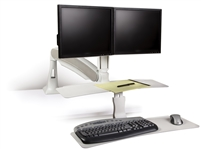 Altissimo Dual Monitor Sit-Stand Workstation