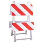 "Econocade Barricade -12"" X 24"" Top Panel  8"" X 24"" Bottom Panel