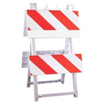 "Econocade Barricade -8"" X 24"" Top Panel 8"" X 24"" Bottom Panel