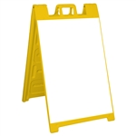 Signicade Sign Stand Yellow - NO SHEETING