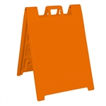 Squarecade 36 Sign Stand Orange - NO SHEETING