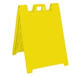 Squarecade 36 Sign Stand Yellow - NO SHEETING