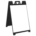 Signicade Deluxe Sign Stand Black