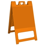 Squarecade 45 Sign Stand Orange - NO SHEETING