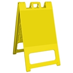 Squarecade 45 Sign Stand Yellow - NO SHEETING