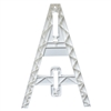 Single Omni Injection Molded A-Frame Leg - White