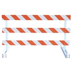 Break-Away Type III - 6' Break-Away  Kit with Engineer Grade Striped Sheeting (Both Sides)