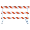 Break-Away Type III - 6' Break-Away  Kit with High Intensity Prismatic Grade Striped Sheeting (Both Sides)