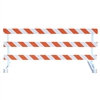 Break-Away Type III - 8' Break-Away  Kit with Diamond Grade Striped Sheeting (Both Sides)