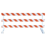 Break-Away Type III - 8' Break-Away  Kit with High Intensity Prismatic Grade Striped Sheeting (One Side)
