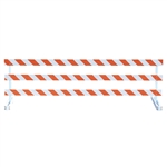 Break-Away Type III - 10' Break-Away  Kit with High Intensity Prismatic Grade Striped Sheeting (One Side)