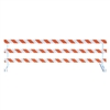 Break-Away Type III - 12' Break-Away  Kit with High Intensity Prismatic Grade Striped Sheeting (Both Sides)