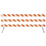 "12' Type III-Power Post 63"" Uprights and Telespar  Feet with High Intensity Prismatic