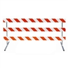 "8' Type III-Telespar Feet & 63"" Uprights with Engineer Grade Striped Sheeting