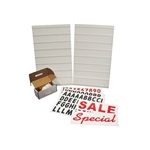"White Message Board Kit 24""Wx36""H"