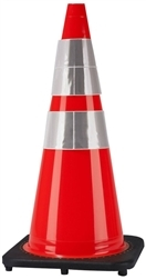 Traffic Cone 280 with Reflective Collars