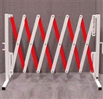 Portable Barricade (VERSA-GUARD) White/Red