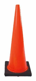 28� Traffic Cone for Retractable Belt Barrier