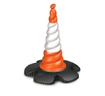 "29.5"" Traffic Cone for Skipper Retractable Belt Barrier"