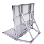 "Concert Barricades ""Front Of Stage Barriers"" 4' ft Aluminum"